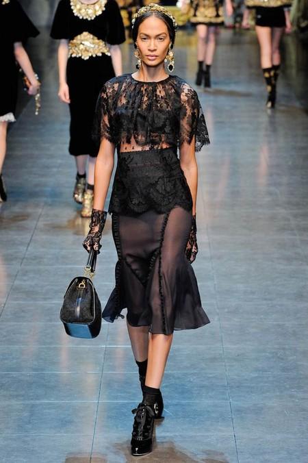Мода на роскошь: стиль барокко в коллекциях осень-зима 2012-2013 — фото 19