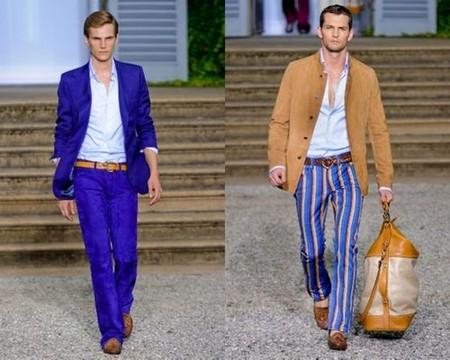 Главное, чтобы костюмчик сидел! Мужская мода весна-лето 2012 — фото 2