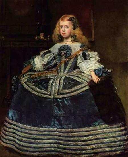 Инфанта Мария-Тереза, 1652 г.