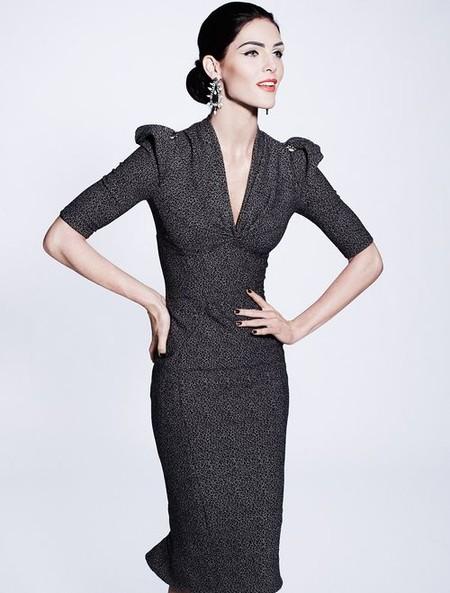 Королевская роскошь и женственность в коллекции Zac Posen pre-fall 2012 — фото 4