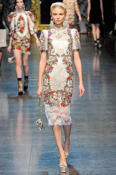 Мода на роскошь: стиль барокко в коллекциях осень-зима 2012-2013 — фото 12