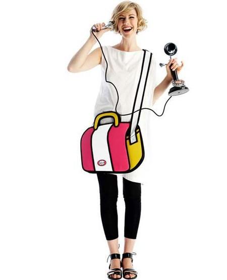 Это не чудеса фотошопа, «мультяшная» сумка настоящая!