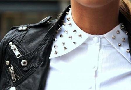 """Рубашка с """"колючим"""" воротничком"""