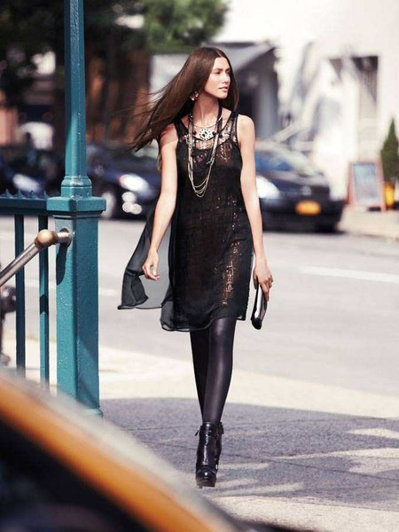 С чем носить леггинсы? Составляем модный look. — фото 13