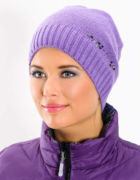 Стильные вязаные шапочки от Éffré: коллекция осень-зима 2012-2013 — фото 14