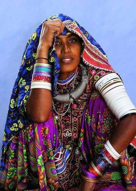 Образ в индийском стиле