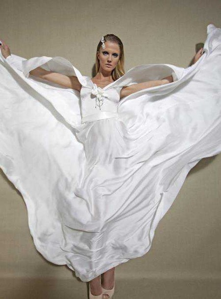 Свадебный сезон 2012: свежая кутюрная коллекция Дани Мизрахи — фото 14
