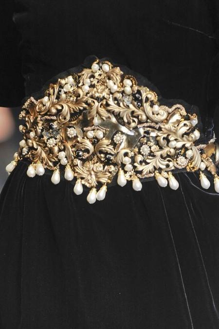 Мода на роскошь: стиль барокко в коллекциях осень-зима 2012-2013 — фото 23