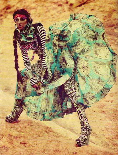 Модная экзотика: этнический стиль в одежде — фото 7