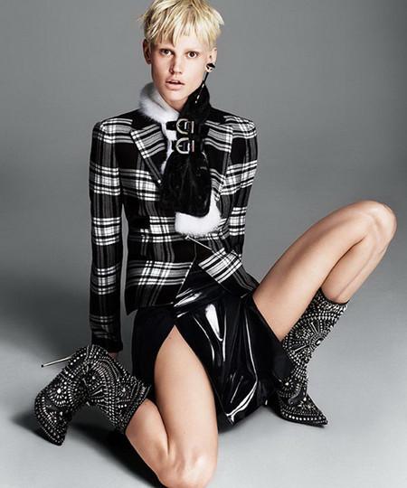 РОКовые красотки: рекламная кампания Versace, приуроченная к осенне-зимнему сезону 2013-2014 — фото 5
