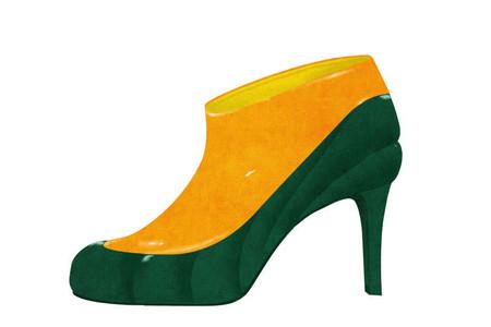 Оригинальные фантазийные туфельки от Йорико Юды — фото 20