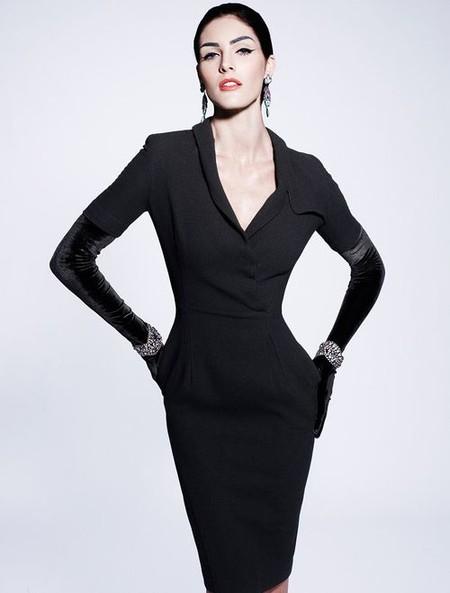 Королевская роскошь и женственность в коллекции Zac Posen pre-fall 2012 — фото 2