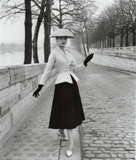 Убранство в стиле New Look от Christian Dior, Париж, 1947