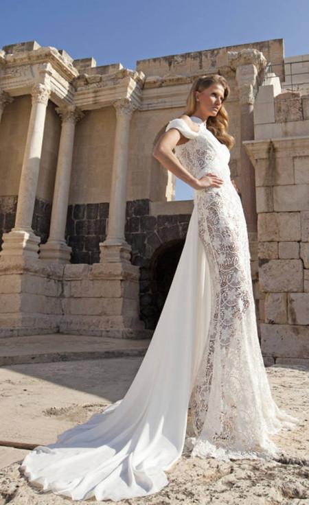 Свадебный сезон 2012: свежая кутюрная коллекция Дани Мизрахи — фото 3
