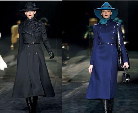 Длинные пальто из коллекции Gucci