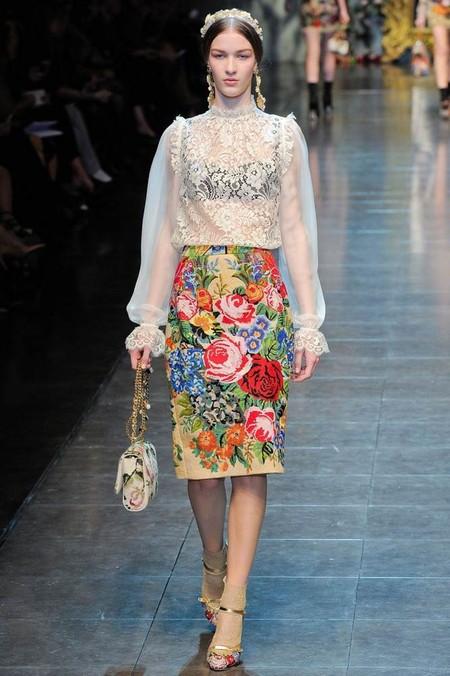 Мода на роскошь: стиль барокко в коллекциях осень-зима 2012-2013 — фото 13