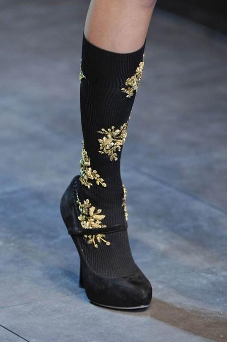Мода на роскошь: стиль барокко в коллекциях осень-зима 2012-2013 — фото 27