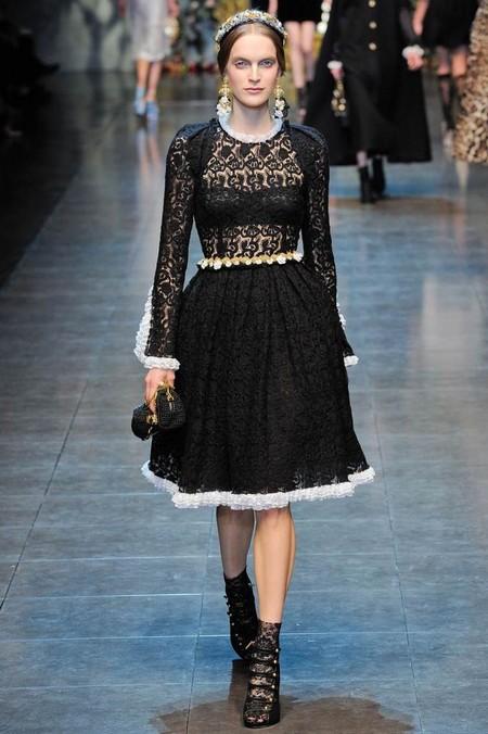 Мода на роскошь: стиль барокко в коллекциях осень-зима 2012-2013 — фото 20