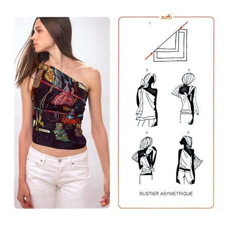 Как завязать платок — фото 15