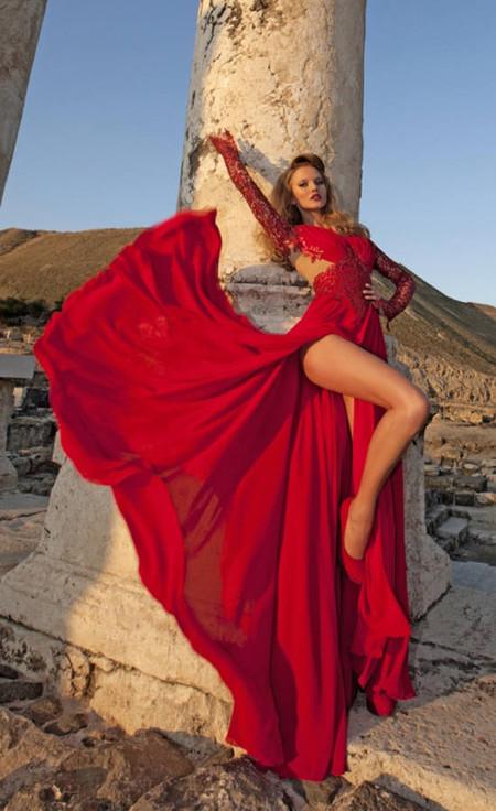 Свадебный сезон 2012: свежая кутюрная коллекция Дани Мизрахи — фото 23