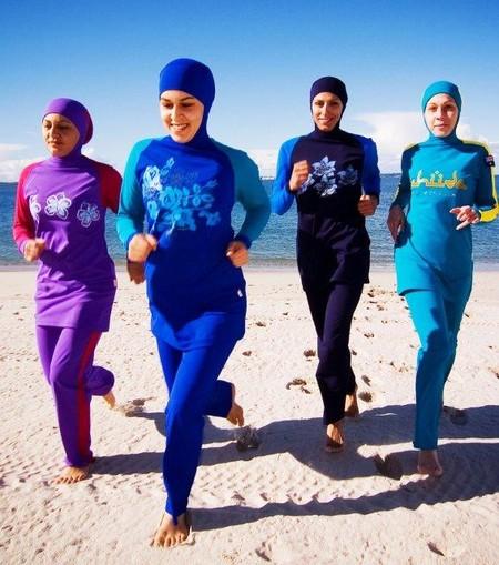 Купальники для мусульманок — буркини