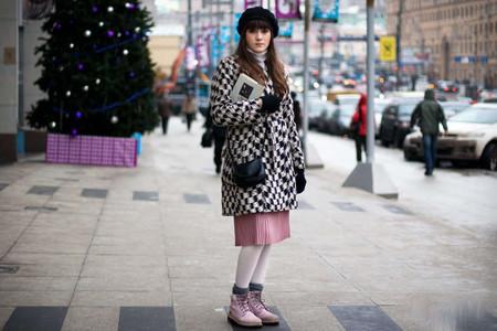 С Чем Носить Грубые Женские Ботинки Фото