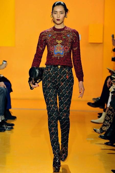 Больше! Больше яркости и цвета: модные принты зимы 2012-2013 — фото 31