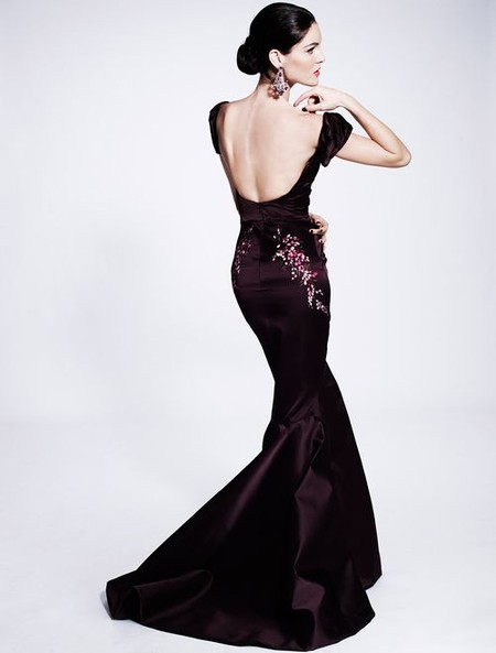 Королевская роскошь и женственность в коллекции Zac Posen pre-fall 2012 — фото 23