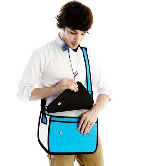 Мультяшные или настоящие? Необычные сумки JumpFromPaper. — фото 15