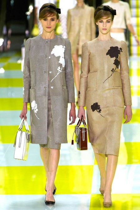 Цветочный принт в коллекции Louis Vuitton