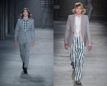 Главное, чтобы костюмчик сидел! Мужская мода весна-лето 2012 — фото 6