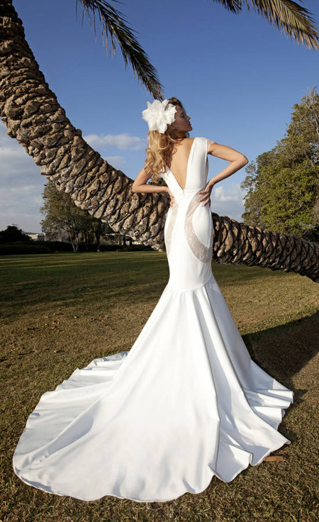Свадебный сезон 2012: свежая кутюрная коллекция Дани Мизрахи — фото 9