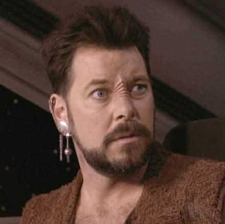 Герой сериала Star Trek (90-е)