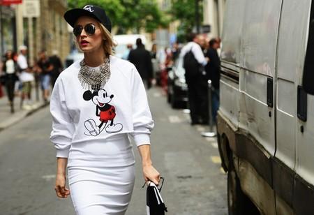 Парижская Неделя моды, street style