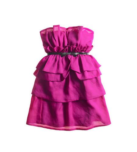 Яркие одноцветные мини-платья