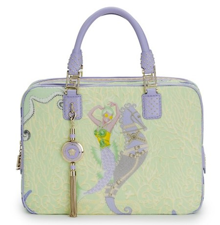 Морские обитатели на сумке Versace