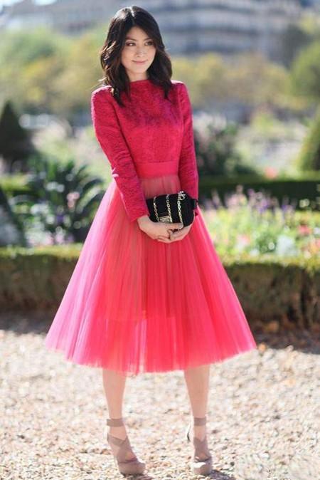 Знаменитый New Look в образах современных модниц
