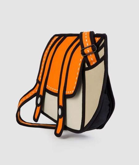 Если взглянуть на мультяшные сумки сбоку, то можно разгадать их секрет