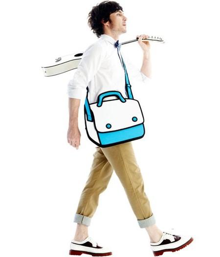 Мультяшные или настоящие? Необычные сумки JumpFromPaper. — фото 14
