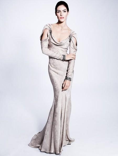 Королевская роскошь и женственность в коллекции Zac Posen pre-fall 2012 — фото 20