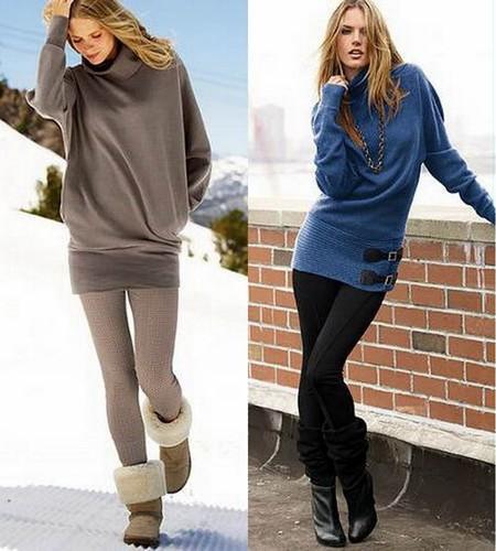 С чем носить леггинсы? Составляем модный look. — фото 9