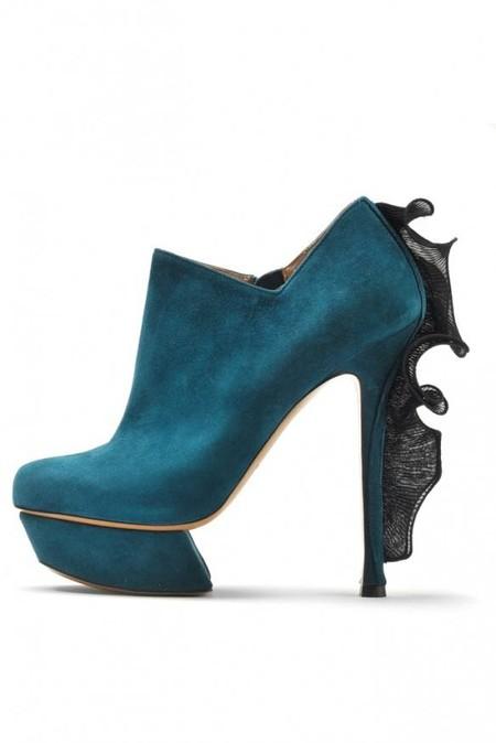 Ботильоны – обувной фаворит осени 2012 — фото 22