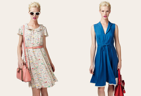 Яркие цвета — обязательная составляющая весенних коллекций 2013