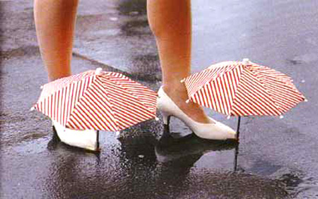 Туфли-зонтики ☺