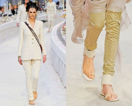 Простота и удобство: модный тренд лета 2012 - вьетнамки — фото 12