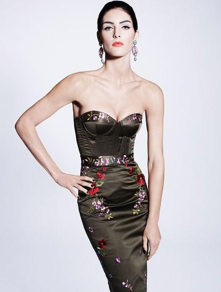 Королевская роскошь и женственность в коллекции Zac Posen pre-fall 2012 — фото 15