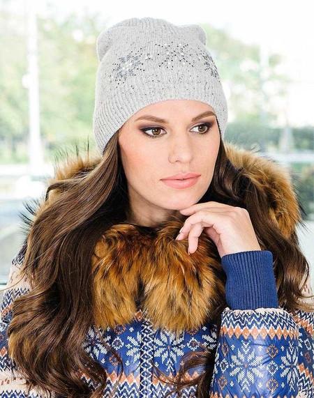 Стильные вязаные шапочки от Éffré: коллекция осень-зима 2012-2013 — фото 19
