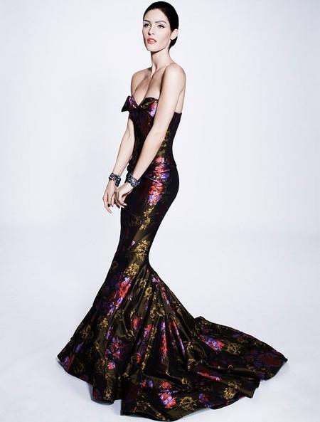 Королевская роскошь и женственность в коллекции Zac Posen pre-fall 2012 — фото 22