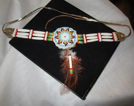 Индейский чокер