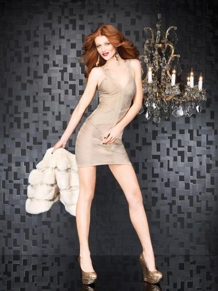 Праздничная коллекция женской одежды Bebe Holiday 2011/2012 — фото 8